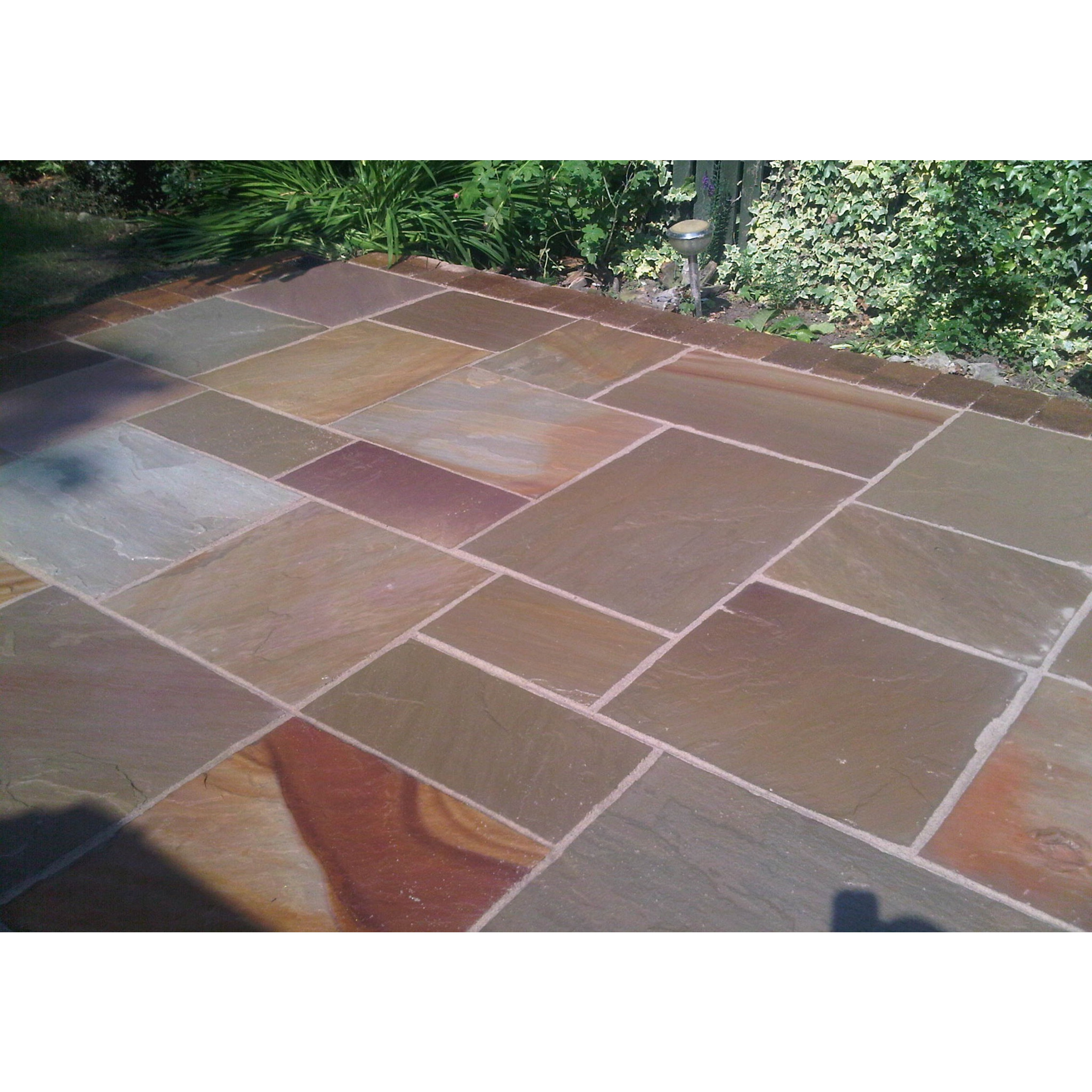 Sandstone / Natural Stone Sealer   COLOUR ENHANCED Finish