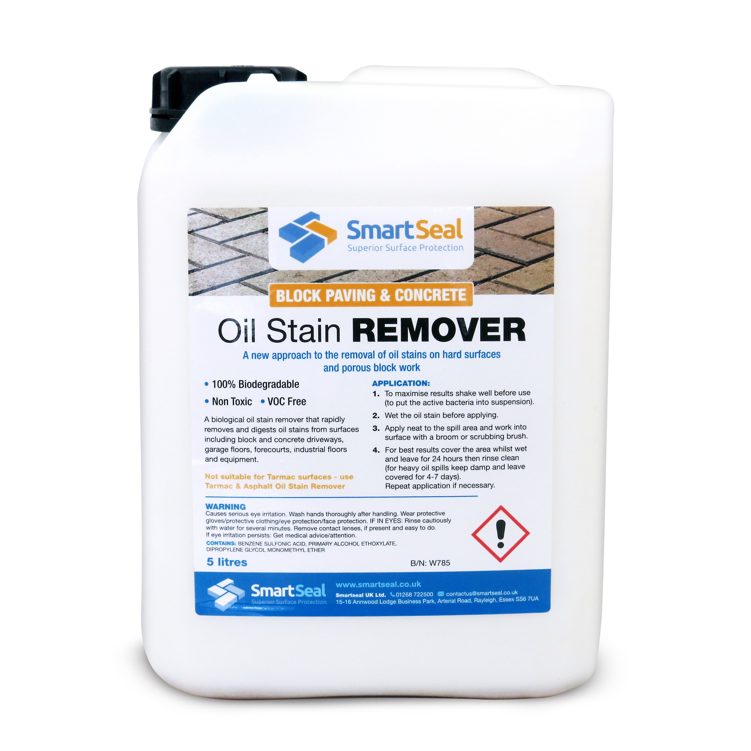 Oil remover for brick paving concrete oil remover for for Concrete cleaner oil remover