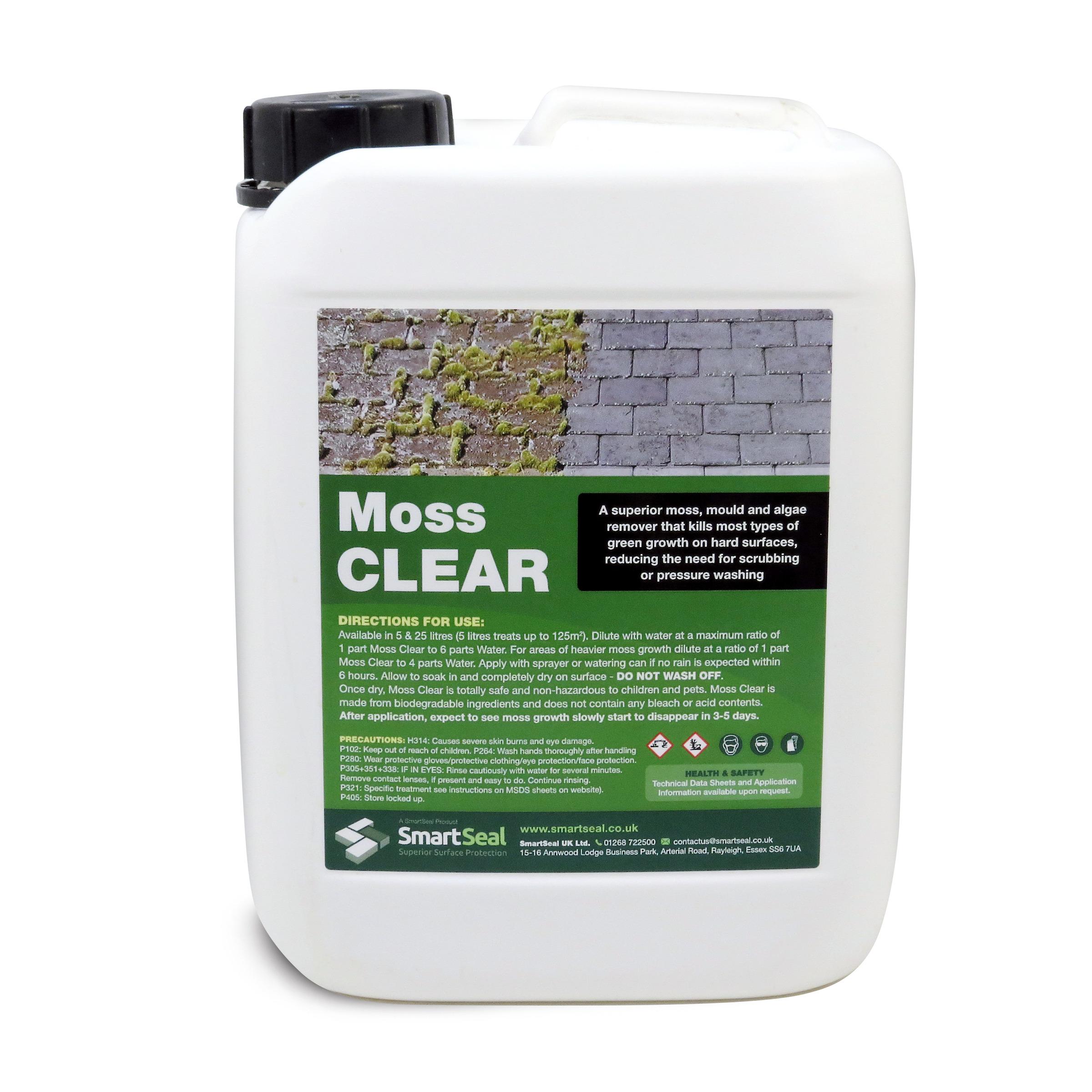 Moss Killer U0026 Algae Remover For Driveways, Patios U0026 Roofs