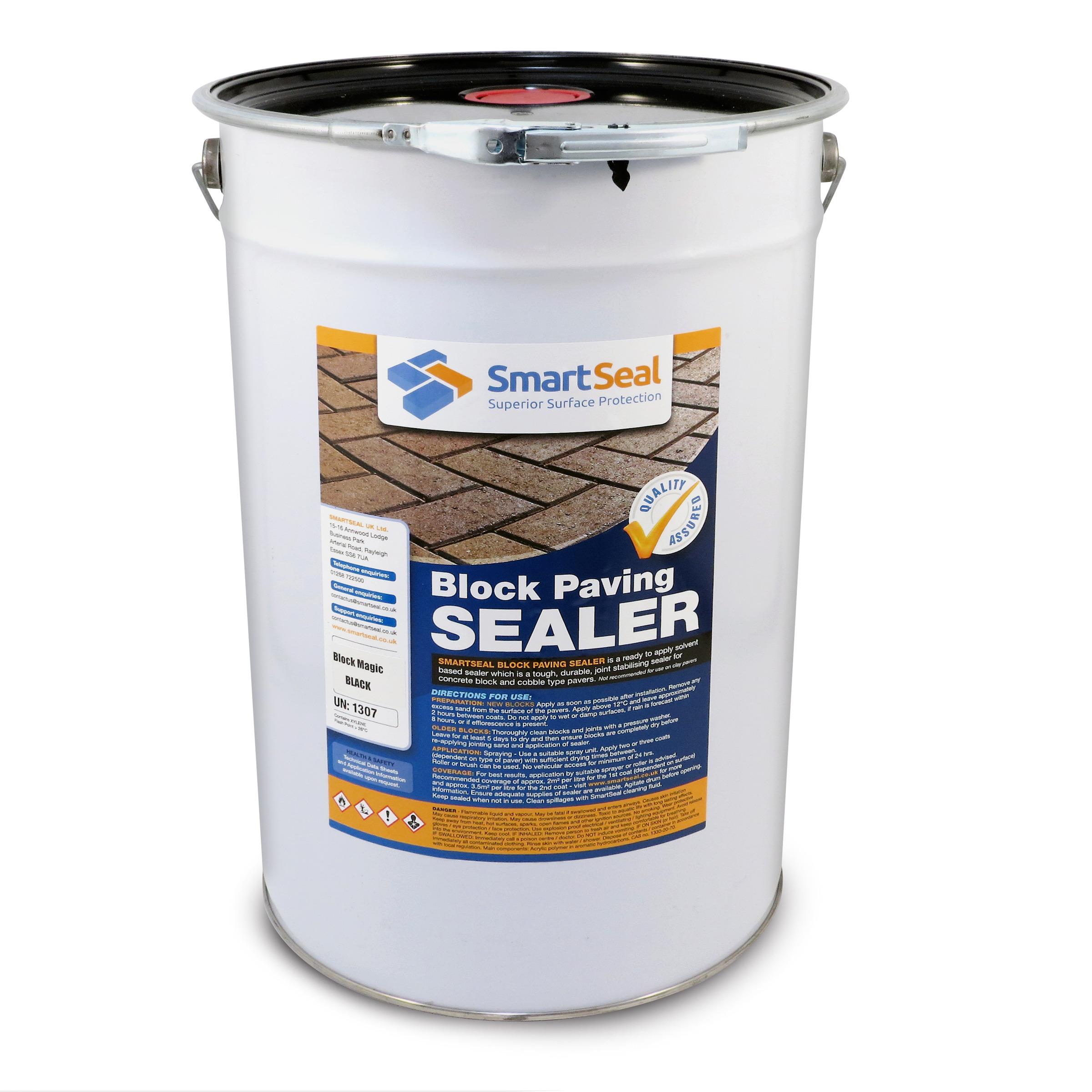 Coloured Sealer for Cobblelock | Colour Restorer for Brick