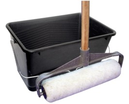 Professional Roller Kit including Sealer/Coating Scuttle