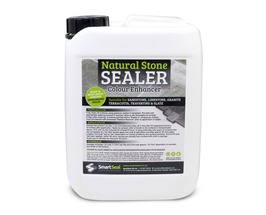 Natural Stone Sealer 'COLOUR-ENHANCED' Finish - High Quality, Impregnating, Durable Sealer for Sandstone, Limestone, Slate, Granite & more