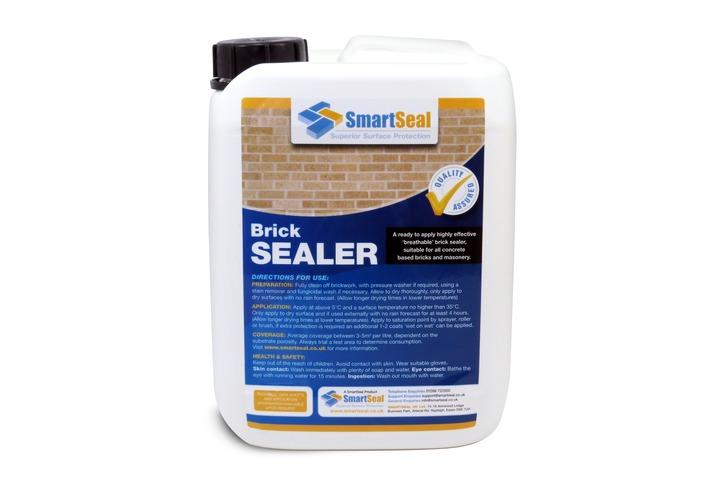 Brick sealer and brick waterproofer to protect brick walls and masonry