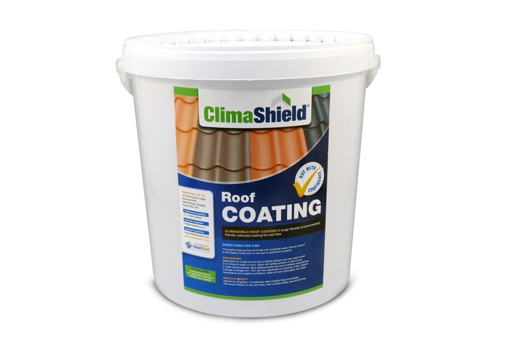 Climashield Roof Coating - Makes Old Roof Tiles Look Like New (20 litres)