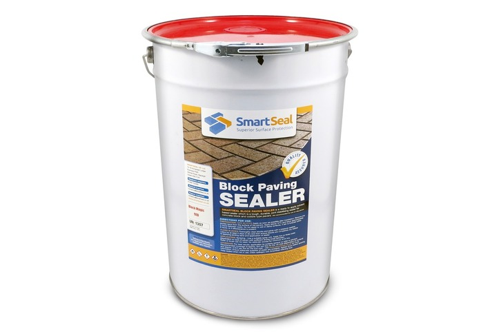 'BLOCK MAGIC'  Sealer - RED - ( Sample,5 & 25 Litres) - Re-Colour  Your Old Block Paving to Make it Look Like New